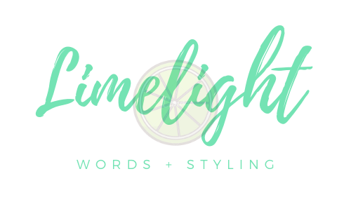 Limelight Copywriting and Brand Styling by Hannah Cook